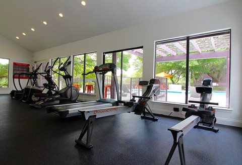 Fitness Center Cardio Machines
