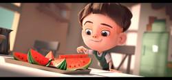 Watermelon a cautionary tale di Kefei Li
