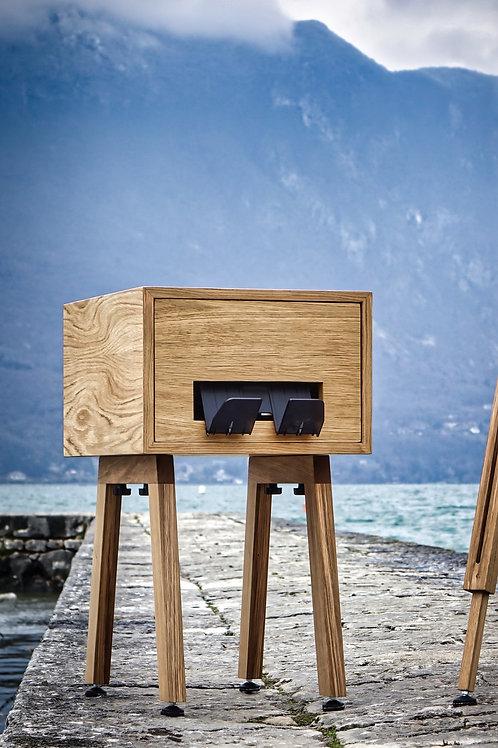 Habillage sur pied en bois, pour votre imprimante DNP 620