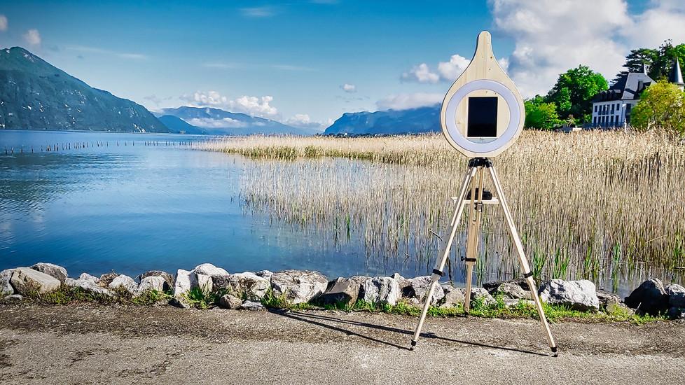 Photobooth Goutte d'Eau - Borne photo en vente achat