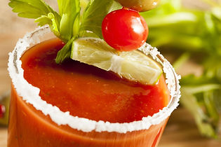 Two Fat Guys bloody mary enhanced with two Fat guys lava hot BBQ sauce recipe photo