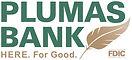 PLUMAS Bank Logo