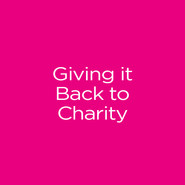 Giving it Back to Charity