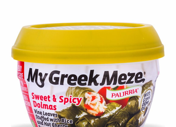 My Greek Meza - Sweet & Spicy Dolmas - Palirria