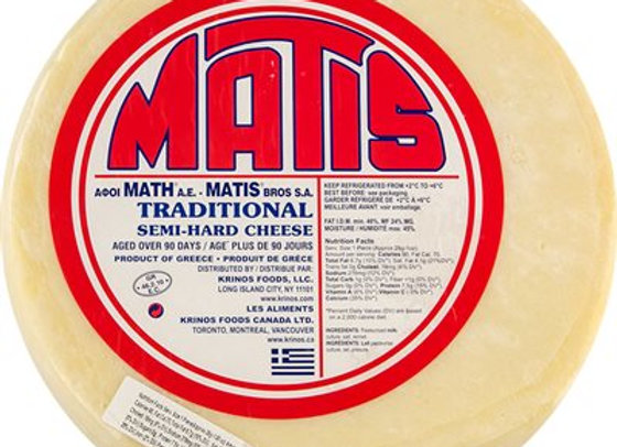 MATIS KASSIER SEMI-HARD CHEESE