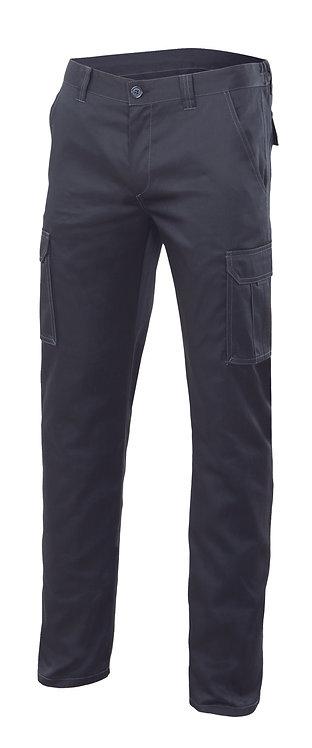 Pantalon stretch multibolsillos 240g