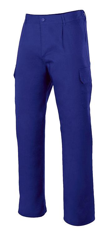 Pantalón multibolsillos en colores