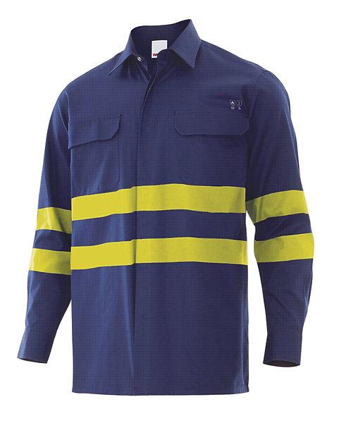 Camisa ignífuga - antiestatica alta visibilidad