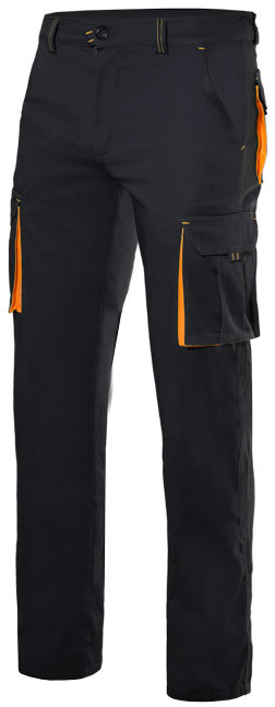 Pantalón stretch bicolor