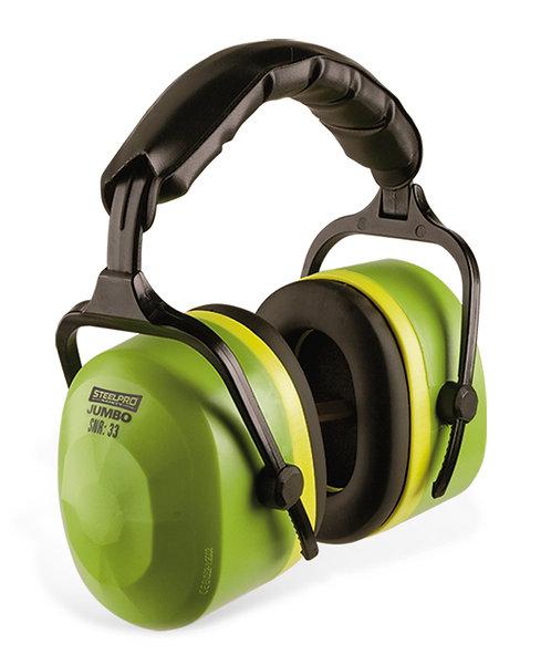 Orejera de protección auditiva arnés acolchado