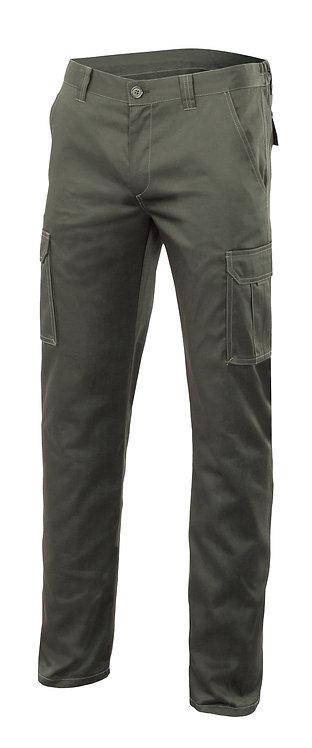 Pantalon stretch multibolsillos 290g