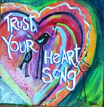 Trust Your Heart Song Painting
