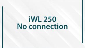 No connection: Ingenico iWL 250