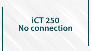 No connection: Ingenico iCT 250