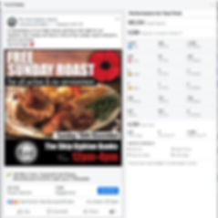 Facebook organic advertising