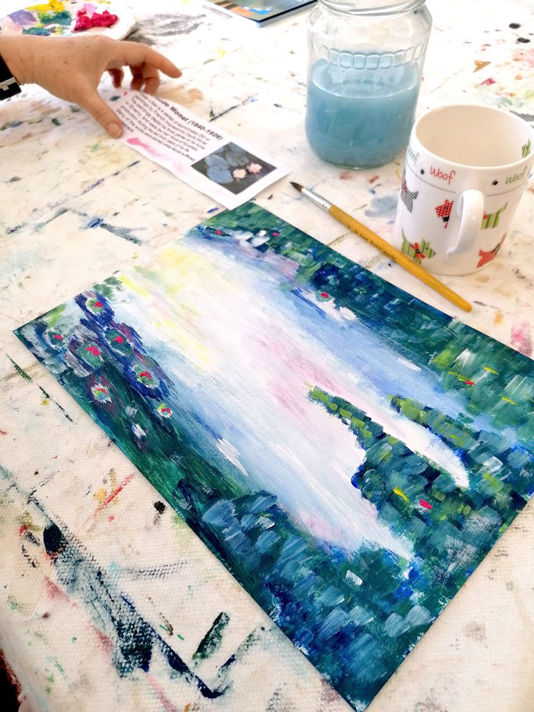 Adult Art Classes for Intermediate