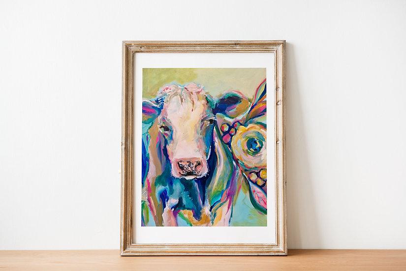 'Simmental' Art Print
