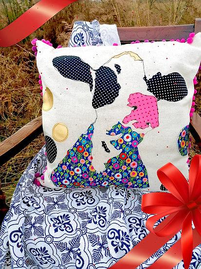Dairy Cow Cotton Cushion