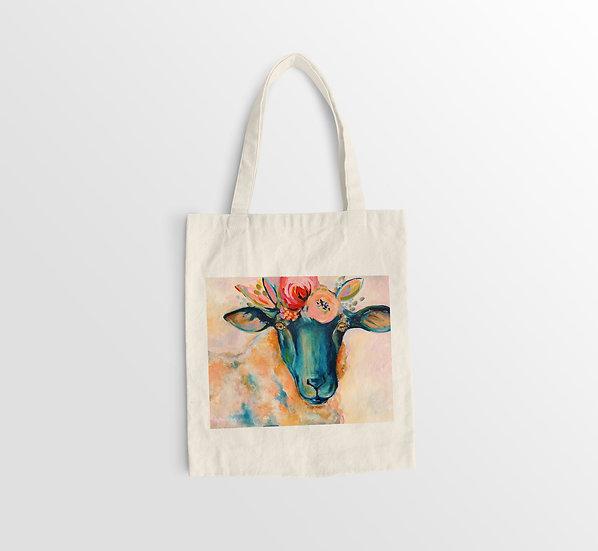 'Lolly Sheep' Organic Cotton Eco Bag
