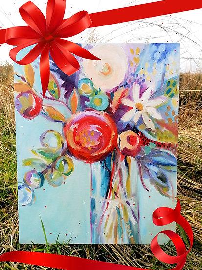 'Springtime' Original Canvas
