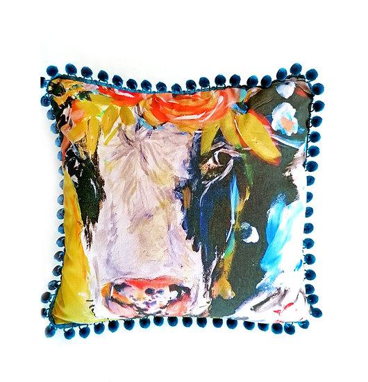 Friesian Organic Cotton Cushion