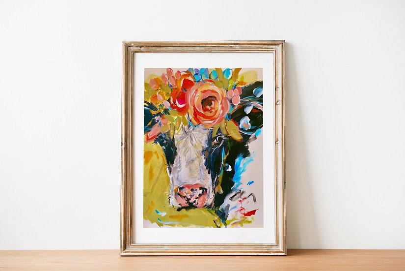 'Friesian' Art Print