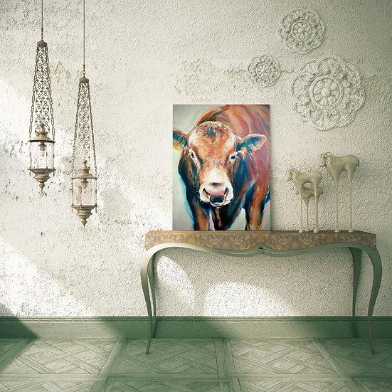 'Malcom Bull' Original Canvas