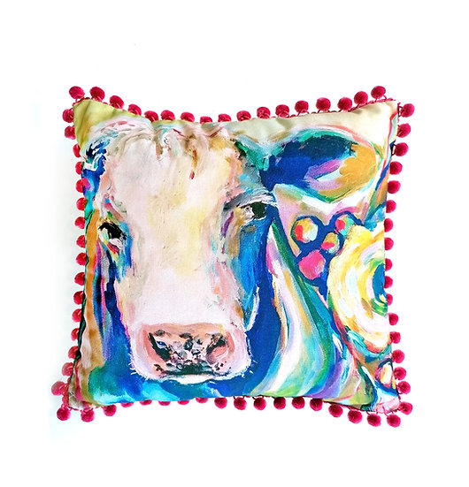 Simmental Organic Cotton Cushion