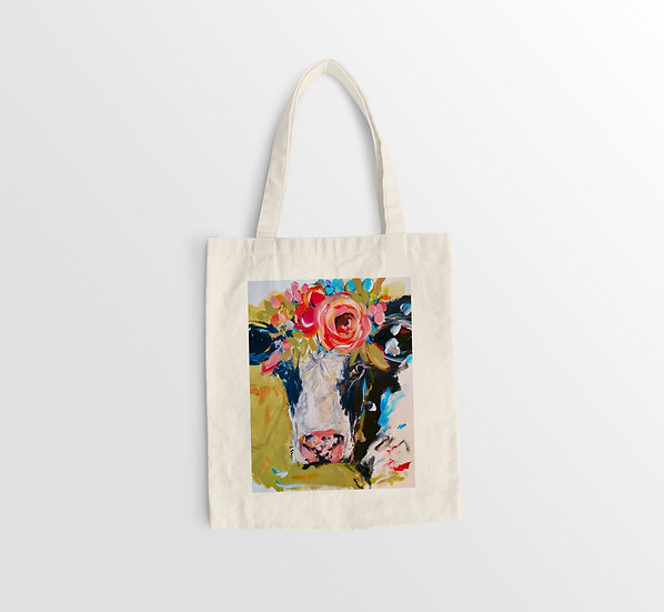 'Friesian' Organic Cotton Eco Bag