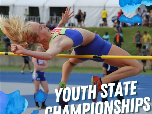 Update: U13-U17 State Track & Field Youth Championships, 27-28 March