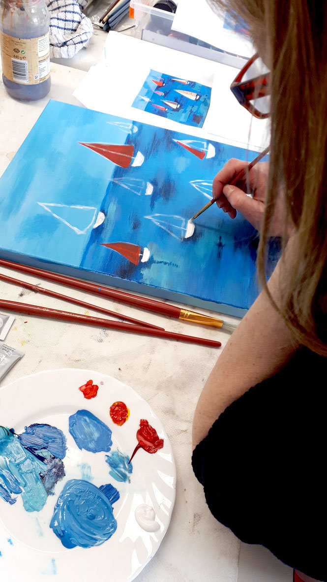 Adult Art Classes for Beginners