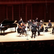 A New World:  Music from Final Fantasy tour with musicians provided by Fine Arts Strings.
