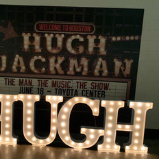 Hugh Jackman Concert, 14 local mucians provided by Fine Arts Strings.