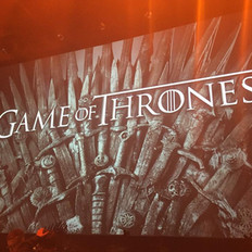 At the Game of Thrones Concert, orchestra provided by Fine Arts Strings.
