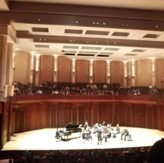 Fine Arts Strings provided the local musicians for A New World:  Music from Final Fantasy tour