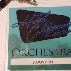 Backstage pass for The Eagles Concert