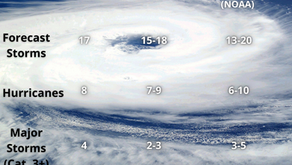 2021 Hurricane season is forecasted to be active