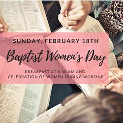 Baptist Womens Day (1)