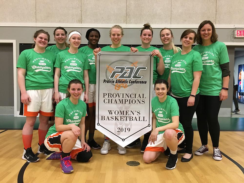 PAC Women's Basketball Champions