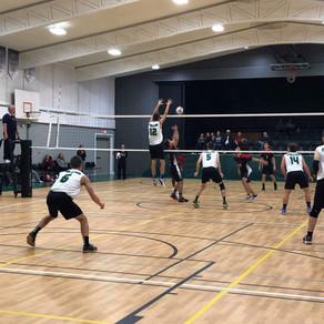 Millar Hosts Burman University in League Volleyball Action