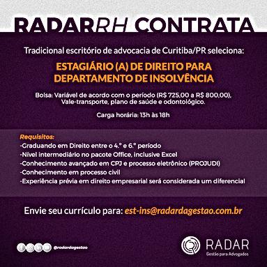 vaga-radar-estagiario-insolvencia-curiti