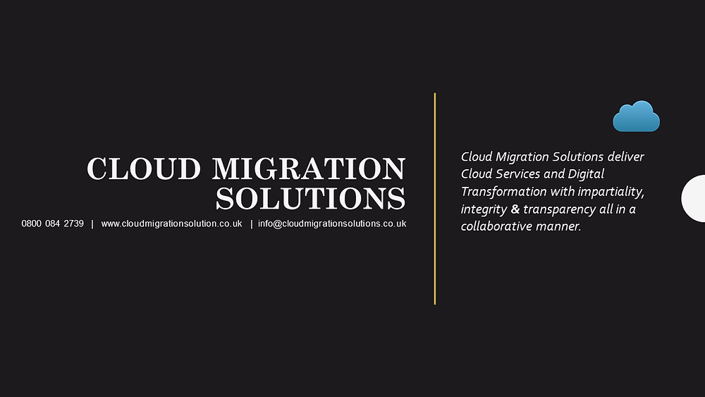 Cloud Migration Solutions Contact Details