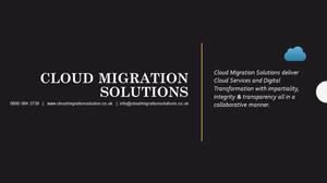 Cloud Migration Contact Details