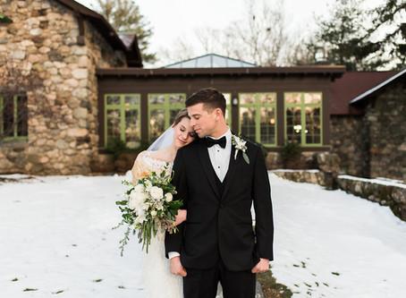 Winter Wedding // Willowdale Estate