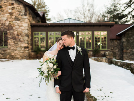 Winter Wedding // Willowdale Estate
