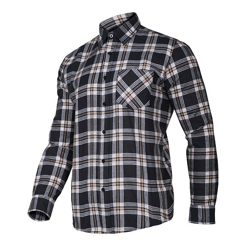 Lahti Pro koszula flanelowa LPKF2 granatowa