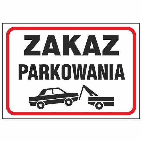 Zakaz parkowania P