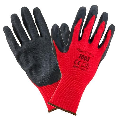 Urgent rękawice impregnowane pokryte gumą 1003