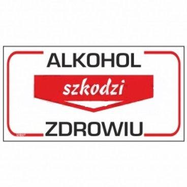 Alkohol szkodzi zdrowiu P