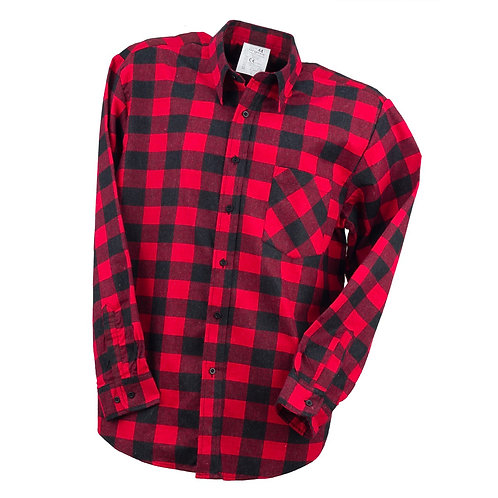 Urgent koszula flanelowa czerwona